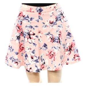 🆕🌸LUSH🌸 Blush Pink Print Skater Skirt   Small